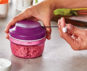 Tupperware Turbo Chef Roxo 300ml