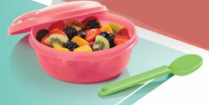 Tupperware Marmitup Snack 600ml + Colher