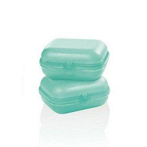 Tupperware Snack Médio Verde Mint