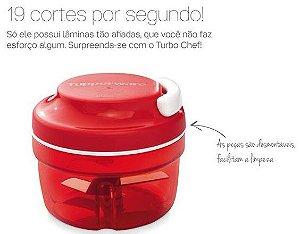 Tupperware Turbo Chef Vermelho 300ml