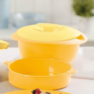 Tupperware Travessa Multifuncional Mágica 1,6 litros Amarelo
