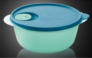 Tupperware Cristalwave 3 litros Verde Mint e Tampa Azul
