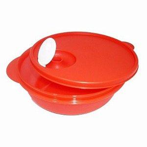 Tupperware Cristalwave 1 litro Vermelho