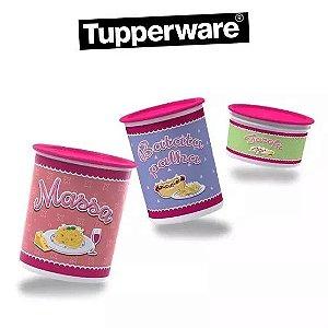 Kit Tupperware Instantâneas Armazenagem 8 peças