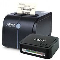 Kit SAT Dimep D-SAT 2.0 + Impressora de Cupom D-Print 250