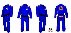Kimono Moreira Team na Cor Azul - Mestre Joe Moreira - ENVIO INTERNACIONAL