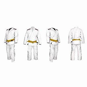Kimono Judô / Jiu-Jitsu Reforçado Juvenil marca Aranha