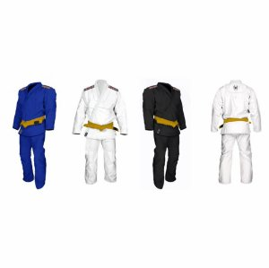 Kimono Jiu Jitsu Trançado Leve Juvenil Marca Aranha