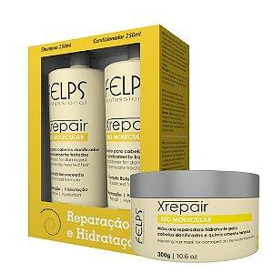 Felps Kit de Tratamento Xrepair Bio Molecular - 3 Produtos