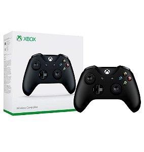 Controle Wireless Preto - Xbox One