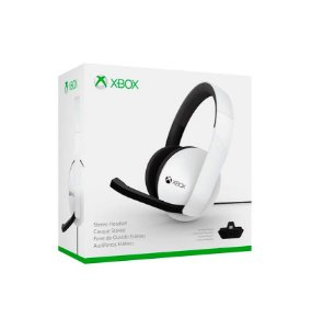 Headset 2.0 branco com adaptador - Xbox One
