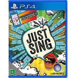 Just Sing - PlayStation 4