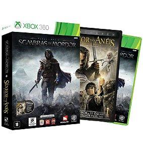 Terra Media - Sombras de Mordor (Dublado) + Filme - Xbox 360