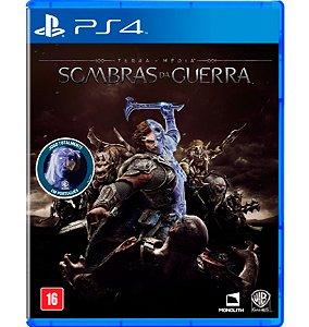 Sombras da Guerra (Totalmente em Português) - PlayStation 4