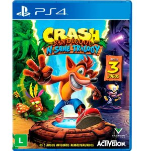 Crash Bandicoot N`Sane Trilogy - PlayStation 4