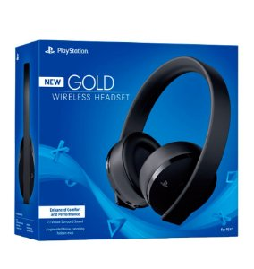 NEW Wireless Stereo Headset Gold 7.1  - Playstation 4