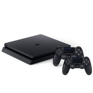 Combo PlayStation 4 Slim 1TB com 2 controles