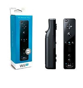 Controle Remote Plus Preto - Nintendo Wii U / Nintendo Wii