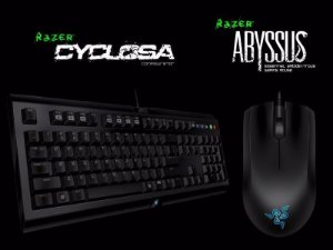 Razer Bundle - Razer Cyclona Keyboard + Razer Abyssus - PC