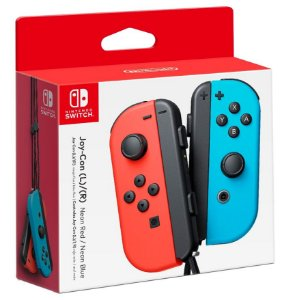 Joy Con (Esquerdo/Direito) Neon Red/ Neon Blue - Nintendo Switch