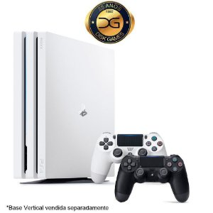 PlayStation 4 PRO Branco 1TB Com 2 Controles