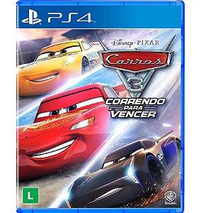 Carros 3: Correndo Para Vencer - PlayStation 4