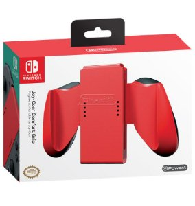 Joy-Con Comfort Grip Vermelho - Nintendo Switch