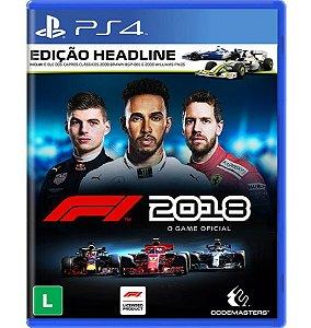 F1: 2018 Edição Headline - PlayStation 4