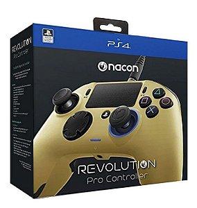 Nacon Revolution Pro Controller Gold - PlayStation 4
