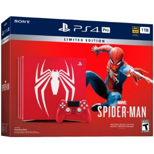 PlayStation 4 PRO 1TB  Marvel Spider Man - Limited Edition