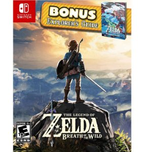 The Legend of Zelda - Breath of The Wild Starter Pack - Nintendo Switch