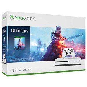 Xbox One S 1TB com Battlefield V