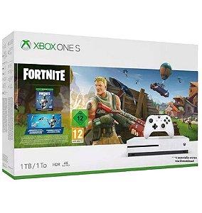 Xbox One S 1tb Bundle Fortnite (conteúdo extra)