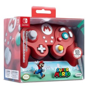 Wired Fight Pad Pro Mario Controller - Nintendo Switch
