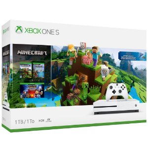 Xbox One S 1tb Bundle Minecraft
