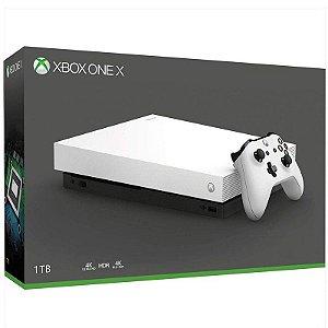 Xbox One X 1Tb Branco