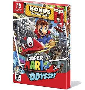 Super Mario Odyssey Bonus Traveler´s Guide - Nintendo Switch