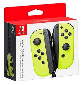 Joy Con (Esquerdo/Direito) Neon Amarelo - Nintendo Switch