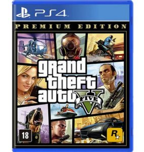 GTA V Premium Edition - PlayStation 4