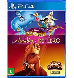 Aladdin e Rei Leão - PlayStation 4