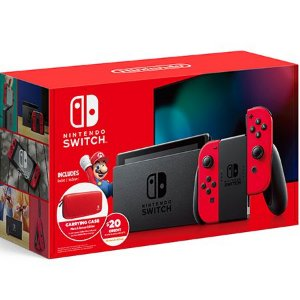 Nintendo Switch Vermelho Novo Modelo