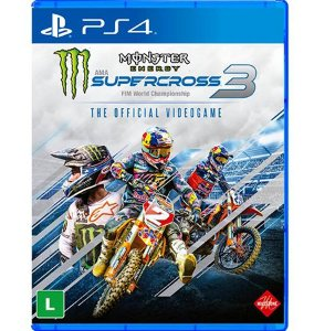Monster Energy SuperCross 3 The Official Videogame - PlayStation 4