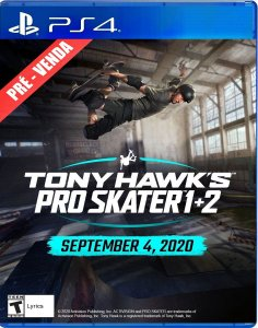 Tony Hawk's Pro Skater 1 + 2 (PRÉ-VENDA) - PlayStation 4