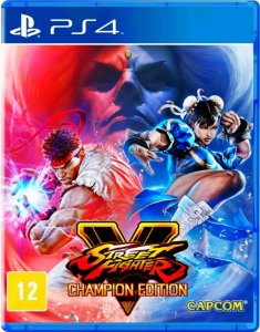 Street Fighter Champion Edition - Playstation 4