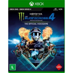 Monster Energy Supercross 4 - Xbox One / Series