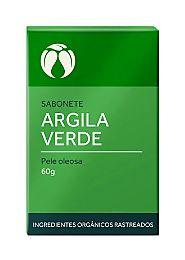 Sabonete Argila Verde para Pele Oleosa Orgânico Natural Vegano (Cativa)