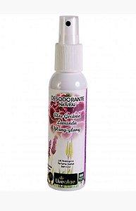 Desodorante Natural Aloe, Gerânio, Lavanda e Ylang-Ylang (Livealoe)