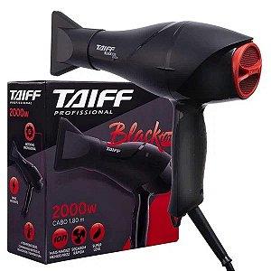 Secador De Cabelo Black Íon Profissional 2000w - Taiff