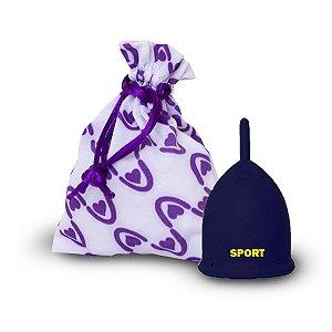 Violeta Cup Coletor Menstrual Sport para Academia Cross Fit Atividade Fisica Tipo A ou B