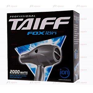 Taiff Fox Íon Secador 2000w Preto